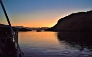 Sunrise aboard our liveaboard!